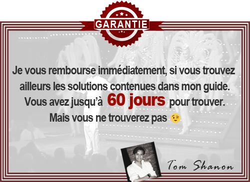GARANTIE Tom Shanon