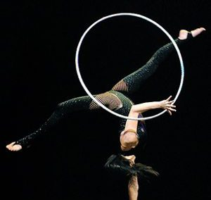 hula hoop Irina Akimova
